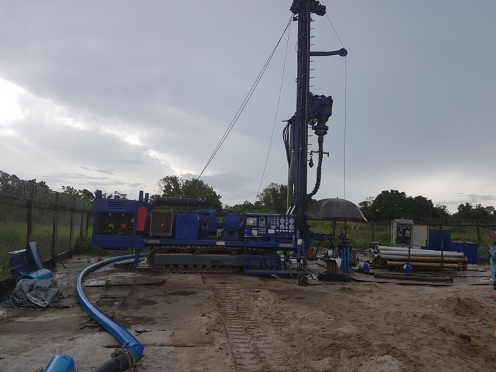 Diamond Well Produces Water